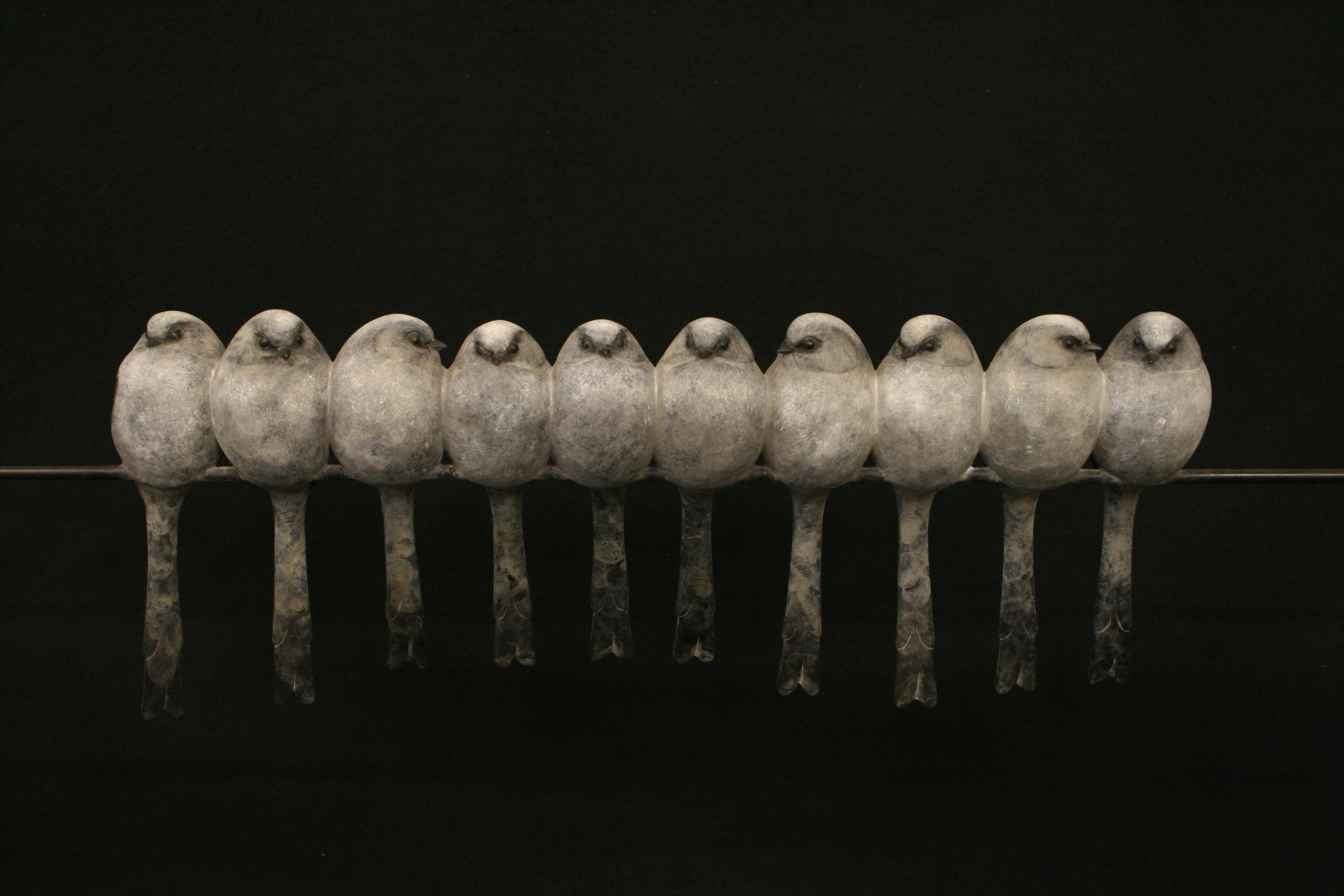10 Long Tailed Tits