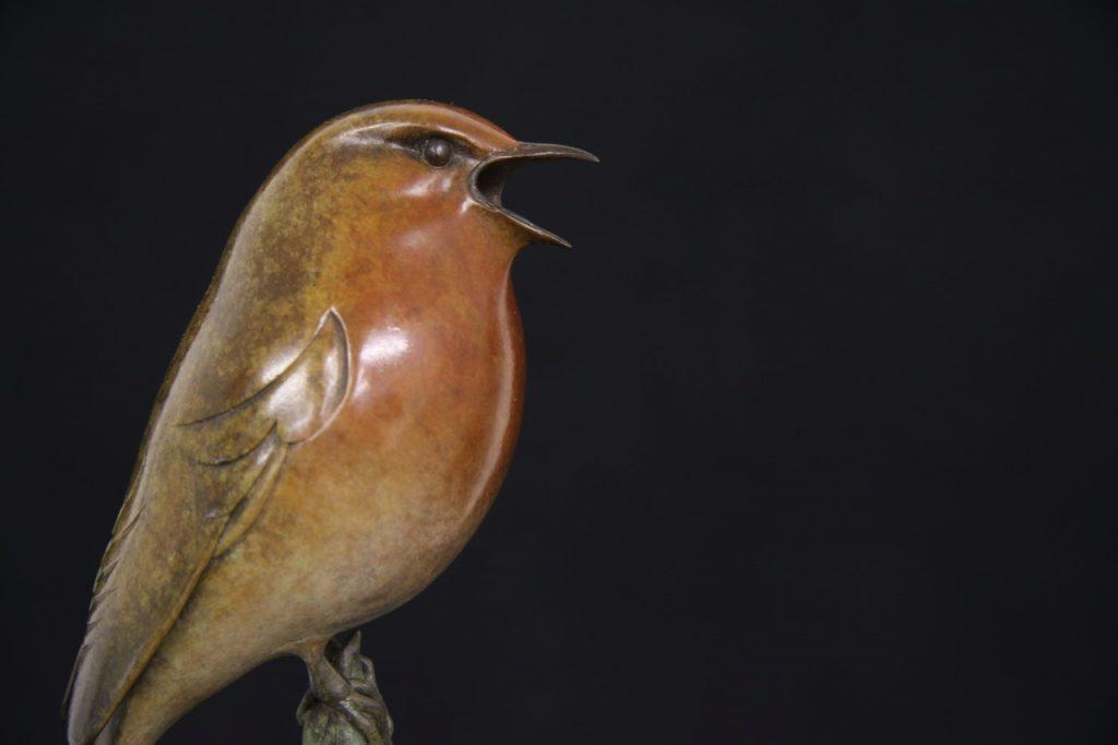 Bronze robin