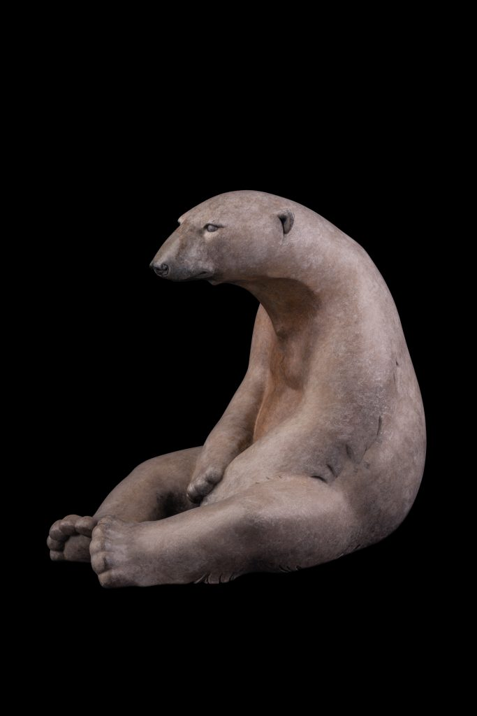 Bronze Polar Bear