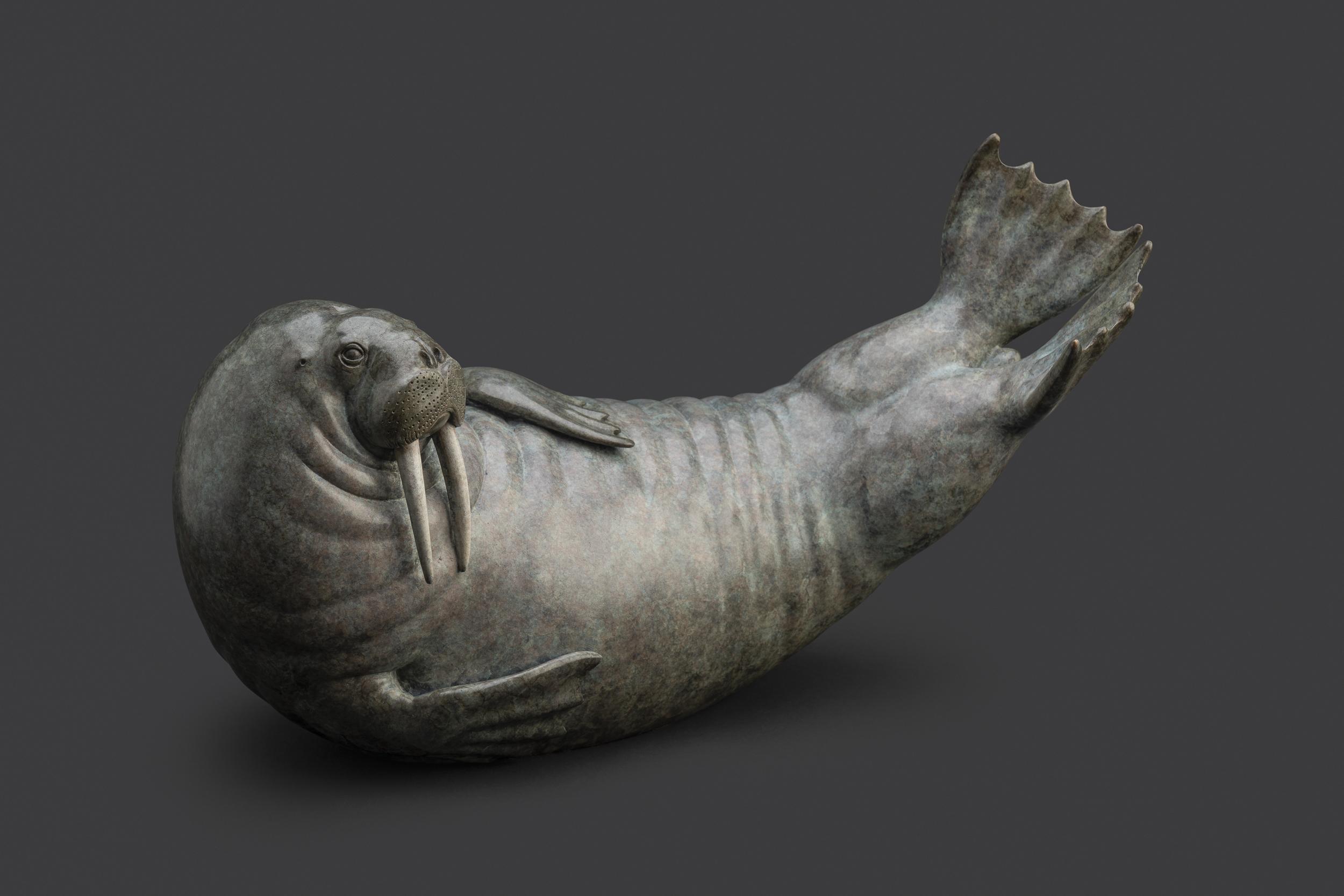 Bronze Walrus