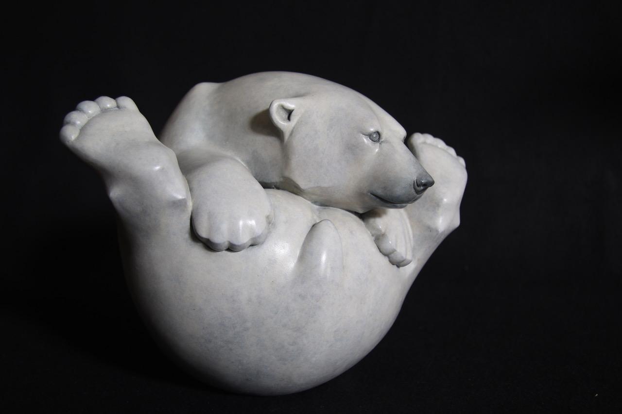 Bronze Polar Bear