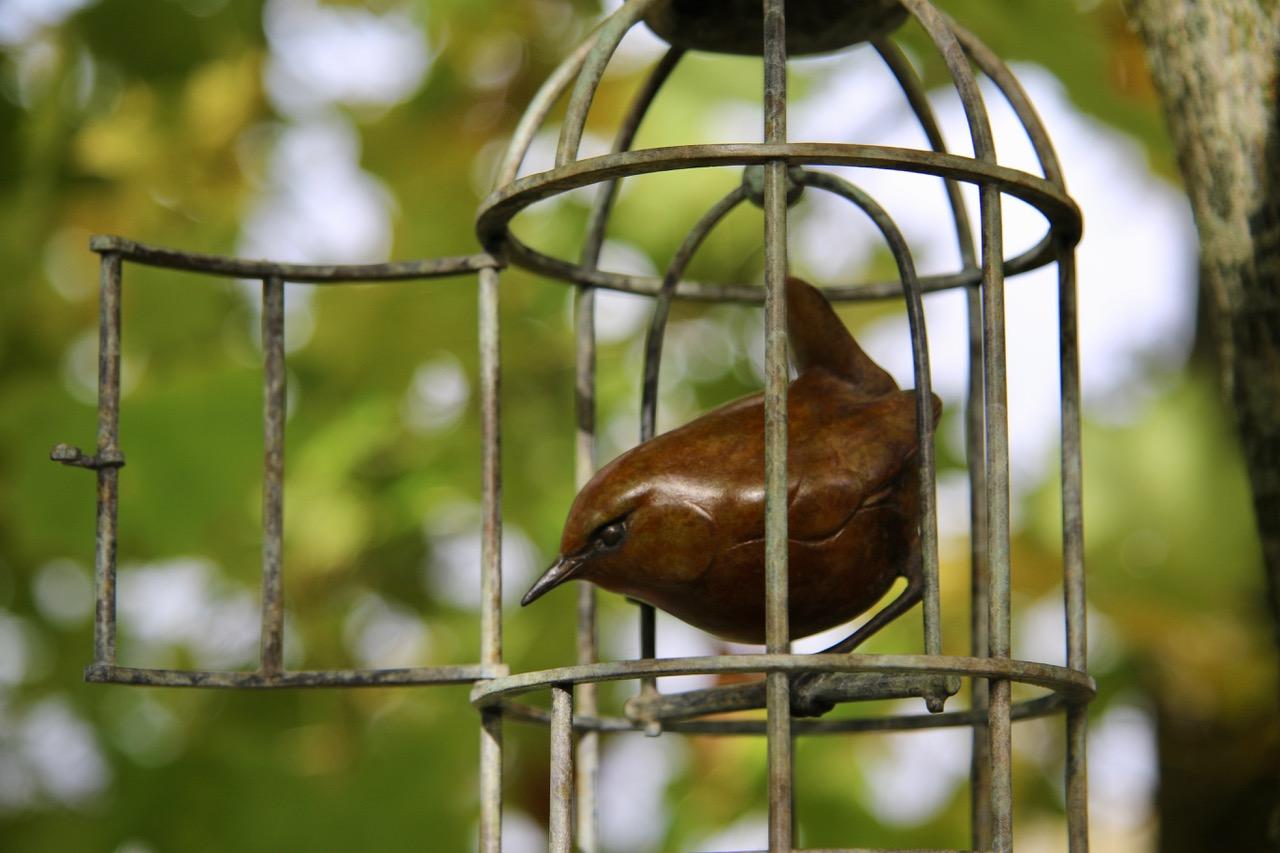 Bronze Bird Cage